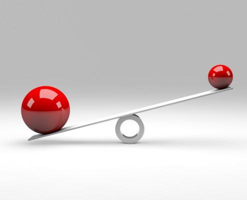 Balance Concept / Red Balls