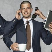 multipurpose businessman