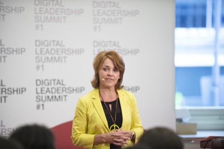 Ursula Vranken auf dem Digital Leadership Summit