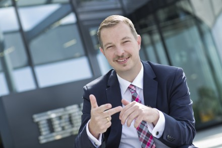 Sven Semet auf dem Digital Leadership Summit